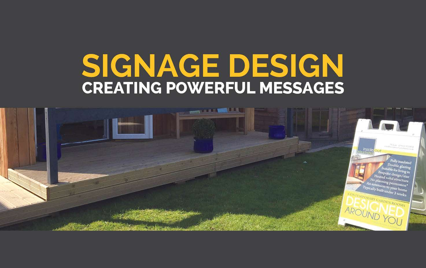 Signage Design, Burnham-on-Sea, Highbridge, Somerset