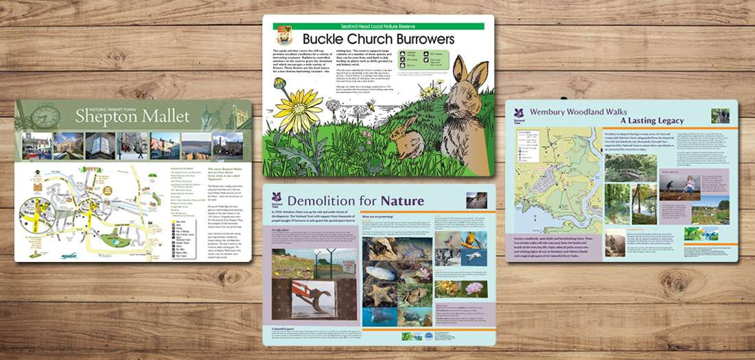 Countryside interpretation panels