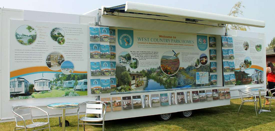 Exhibition display stand design