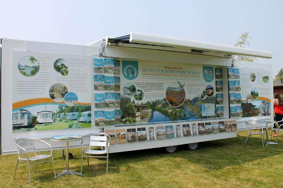 Exhibition display stand design