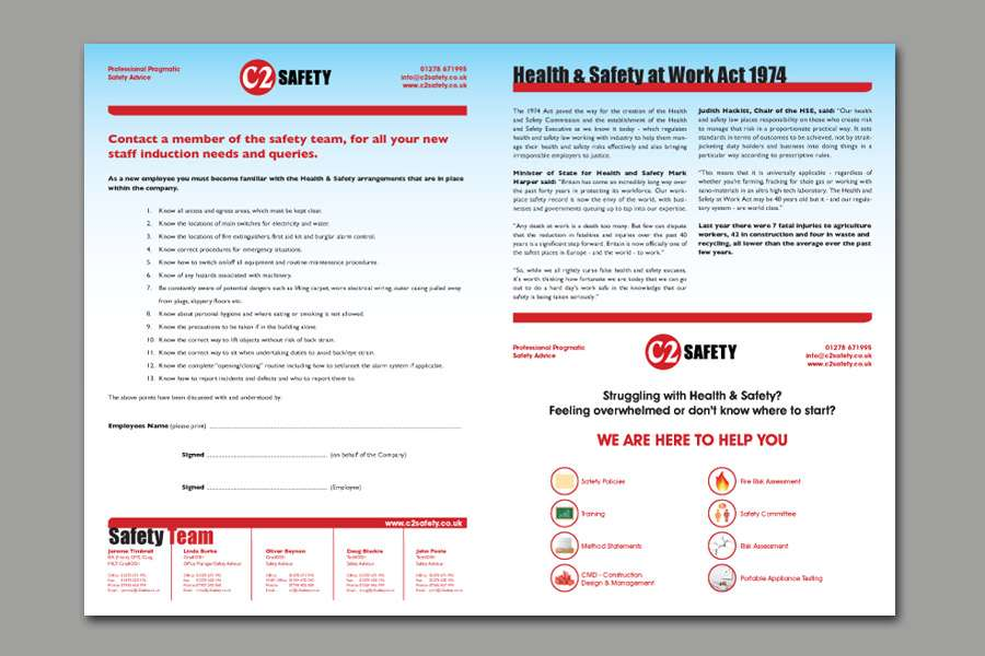 C2 Safety Quarterly Newsletter - Inside Pages