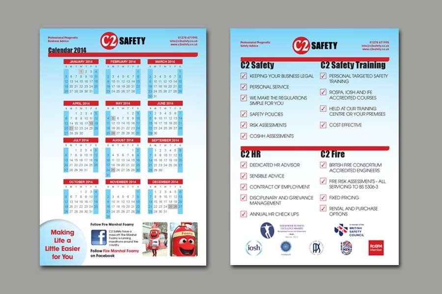 C2 Safety Calendar Design