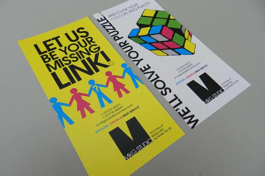 DL Leaflet Design & Print Graphic design Bridgwater