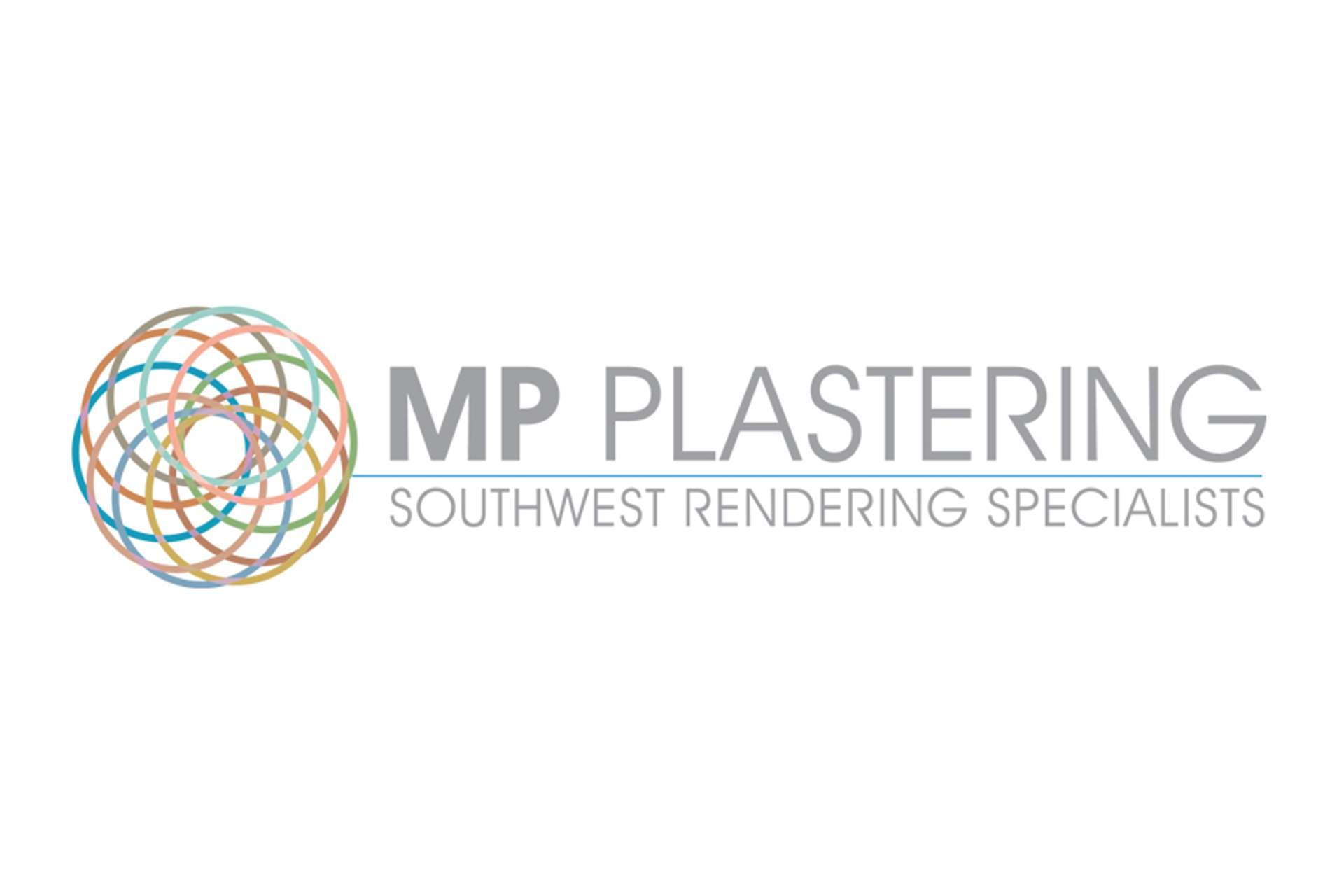 Logo design for MP Plastering in Highbridge, Somerset