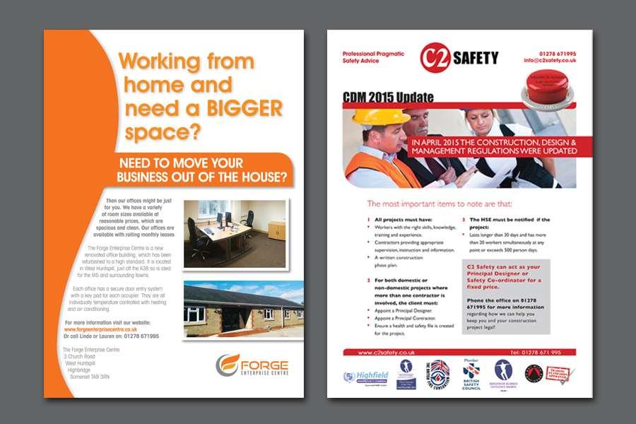 The Forge Enterprise & C2 Safety Flyer Design