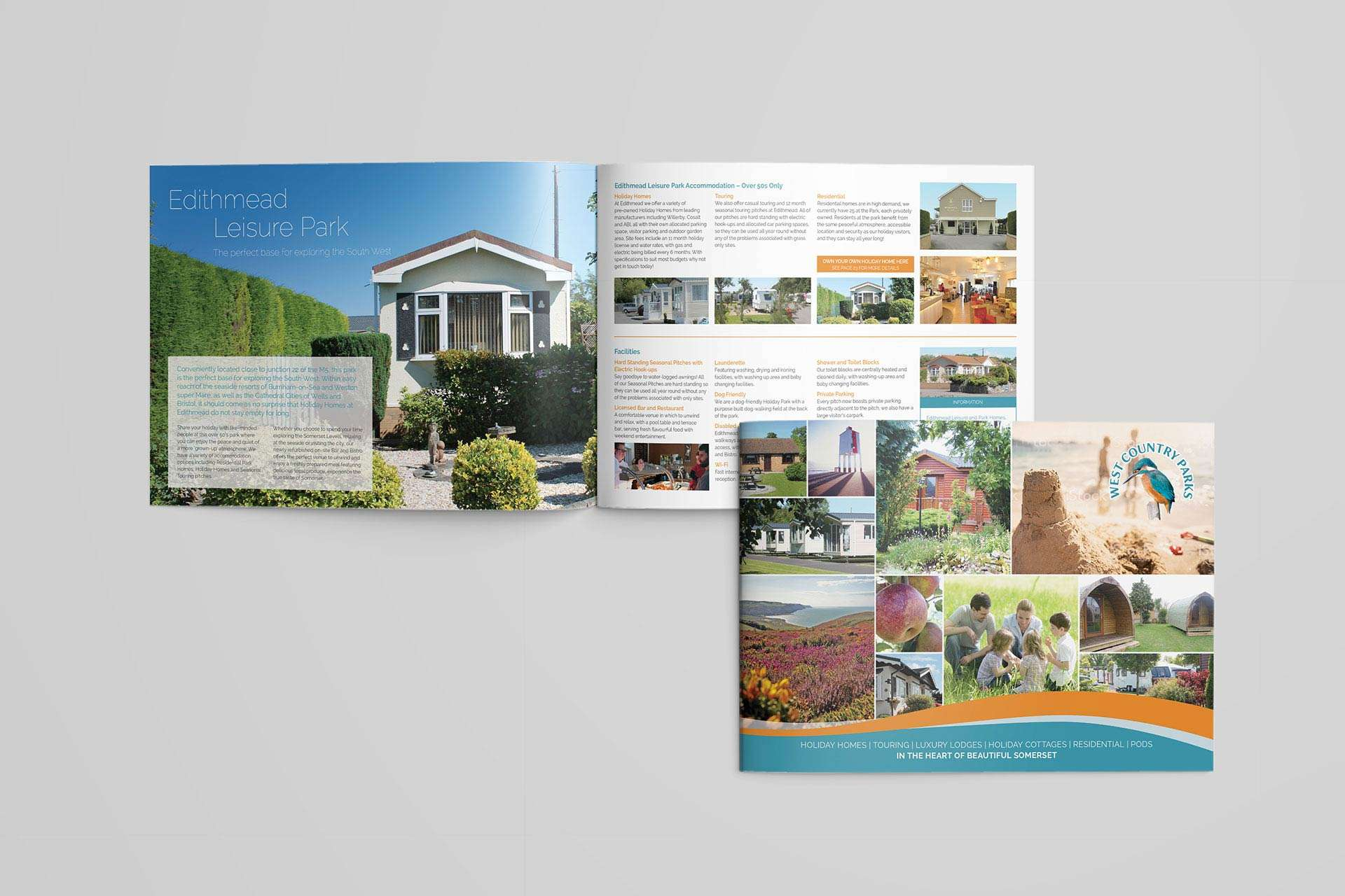 Brochure Design for Holiday Park in Somerset