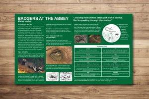 Wildlife Trust Interpretation Panel Design