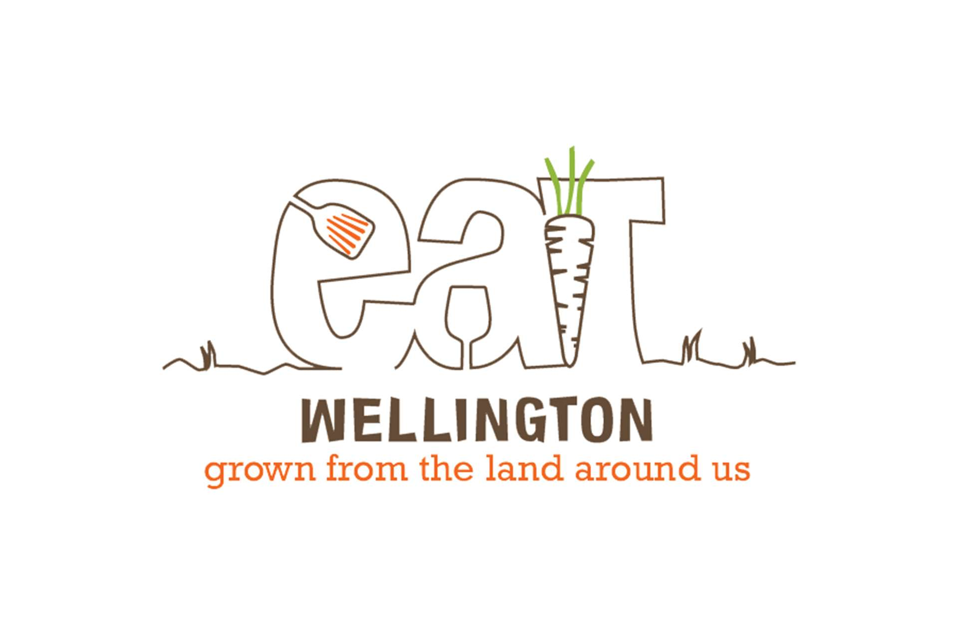 Eat Festivals Food Logo Design, Wellington, Somerset