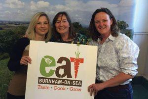 EAT food festival logo design somerset 2