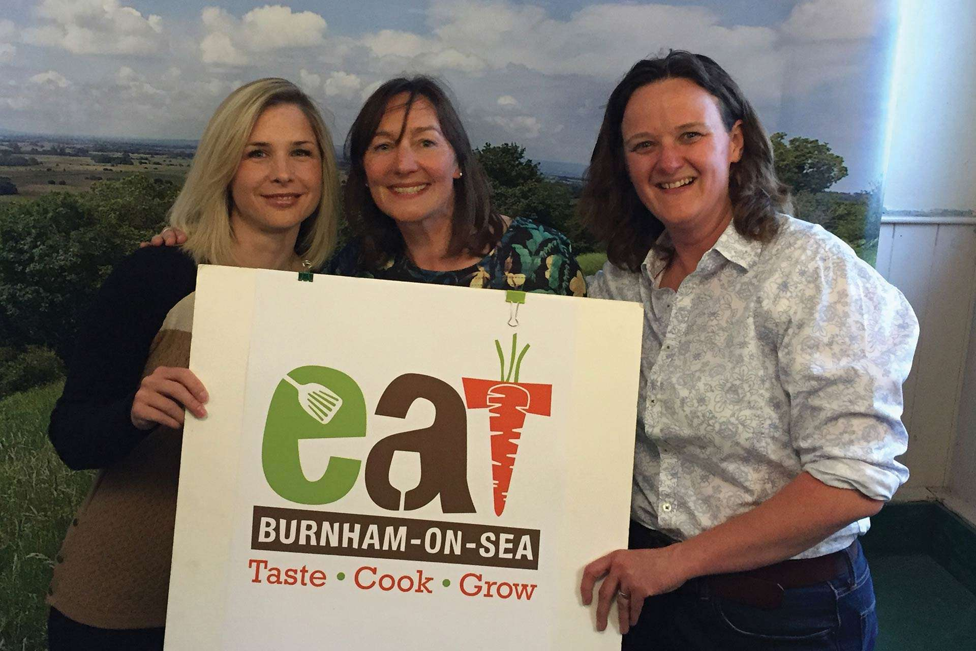 EAT Festivals food logo design, Somerset