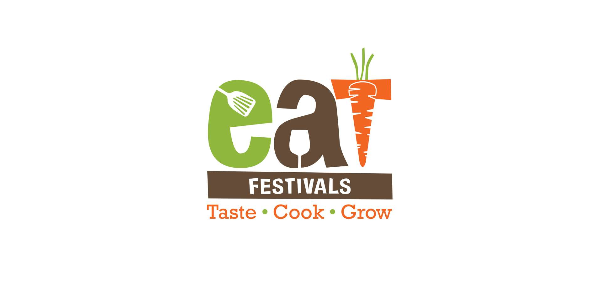 Eat Festivals Food Logo Design, Burnham-on-Sea, Somerset