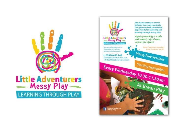 Messy Play Childrens Logo Burnham Somerset