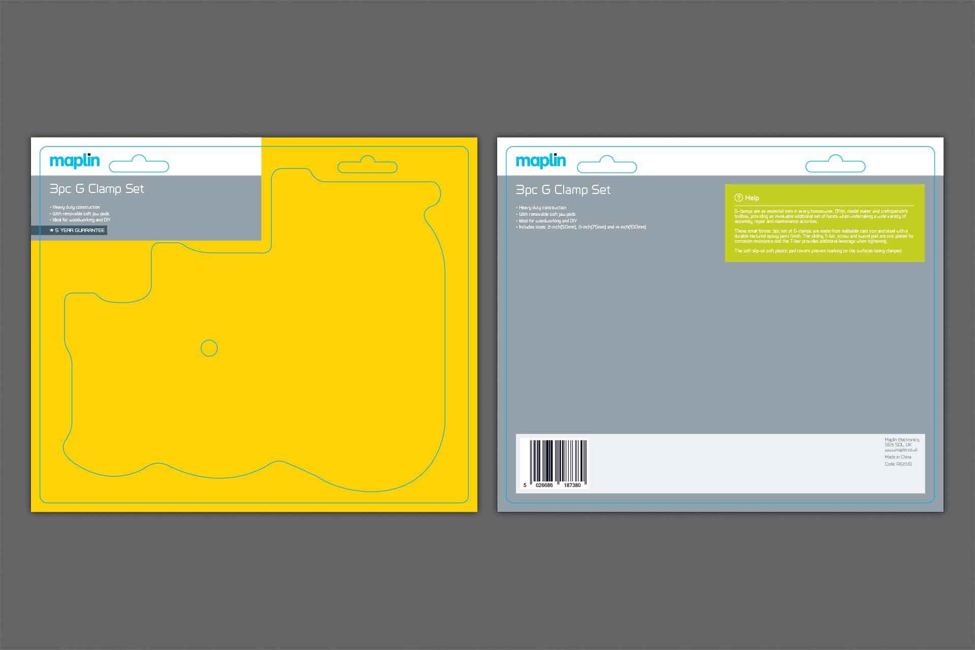 Maplin's brand identity