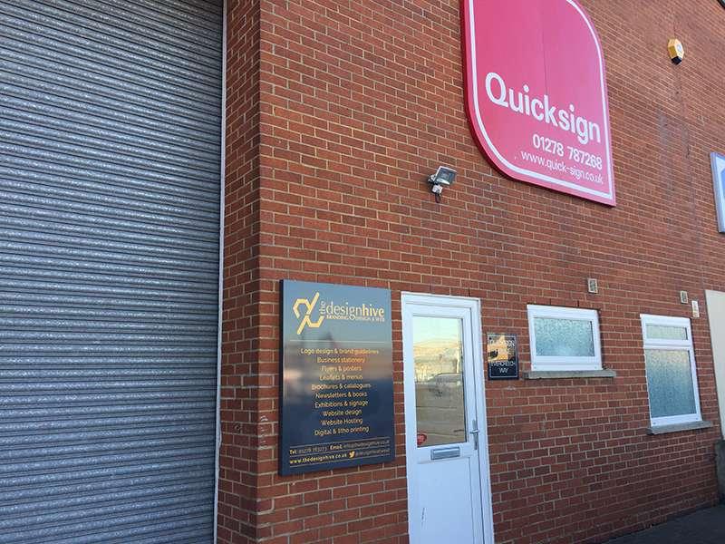 The Design Hive Studio in Highbridge, Somerset