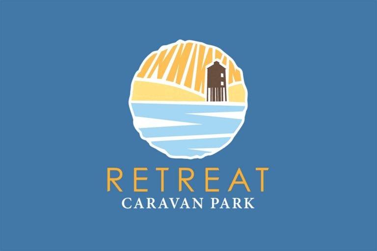 caravan park logo design somerset