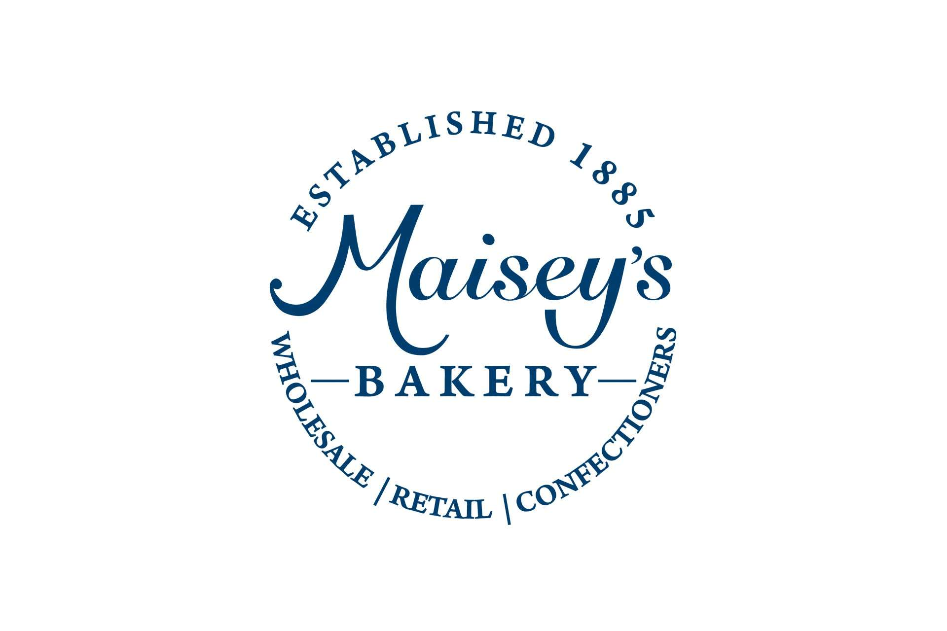 Maisey's Bakery logo design, Highbridge, Somerset