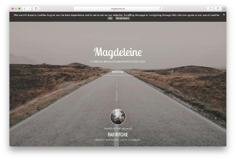Magdeleine Website