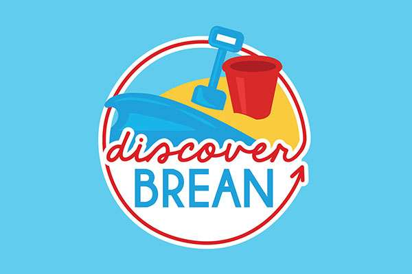 Logo design for Discover Brean Tourism Logo in Somerset
