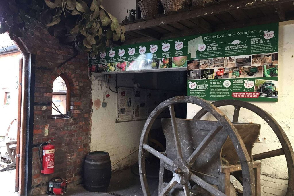 Richs Cider Farm Museum Signage Highbridge