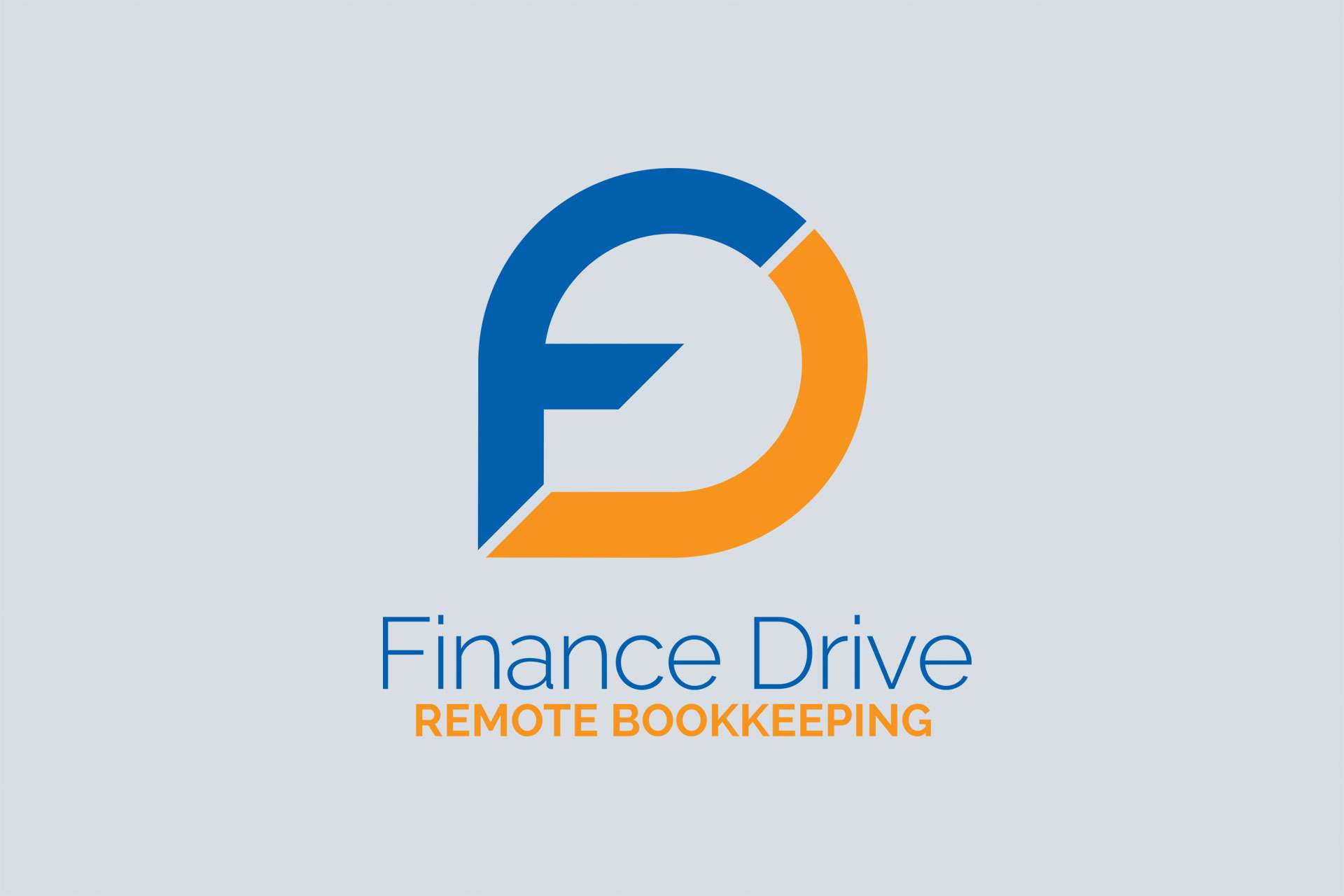 Logo design for JP Rata - The Finance Drive