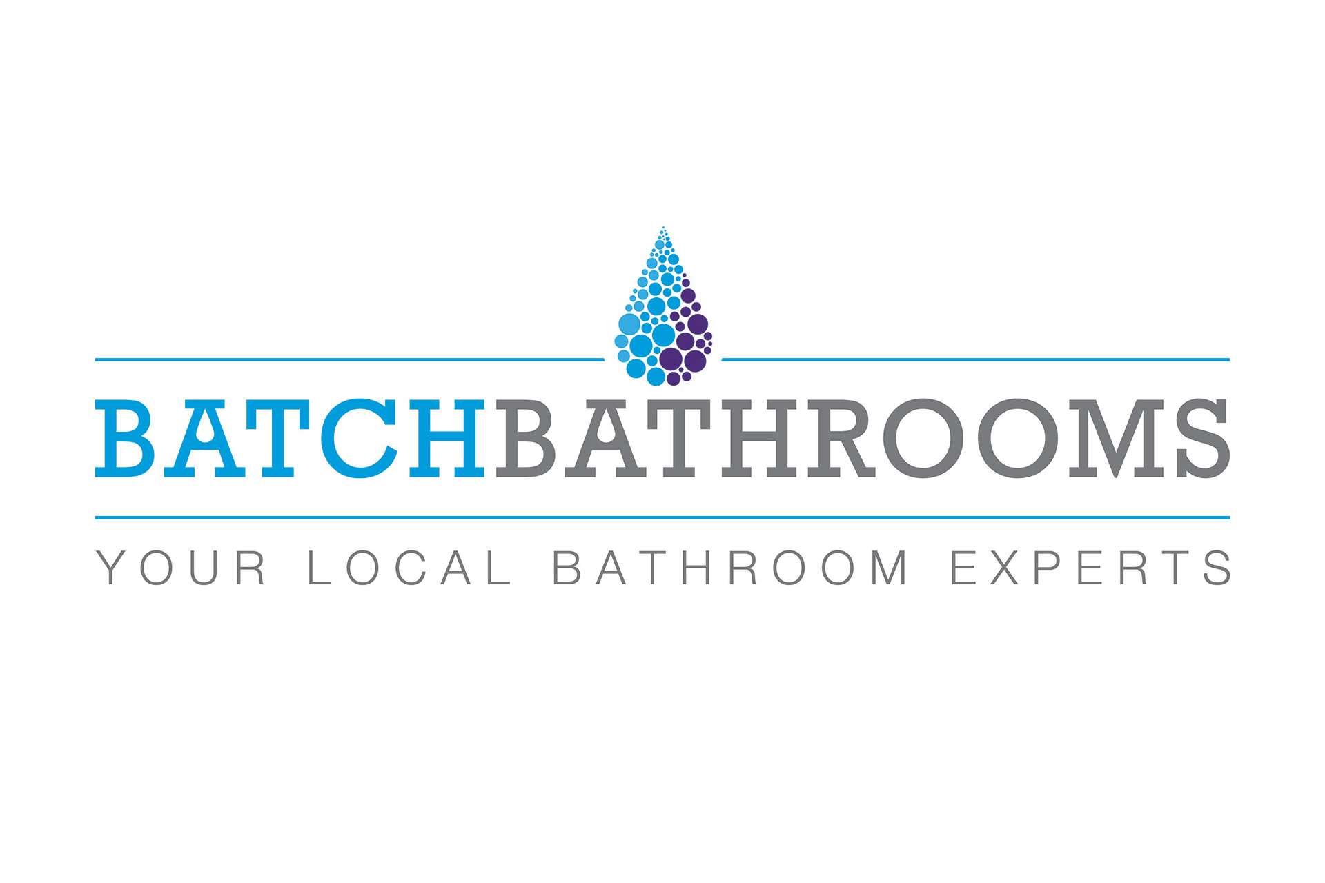 Batch Bathrooms Logo and Graphic design Burnham-on-Sea, Somerset