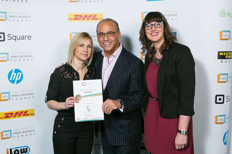 The Design Hive meets Theo Paphitis