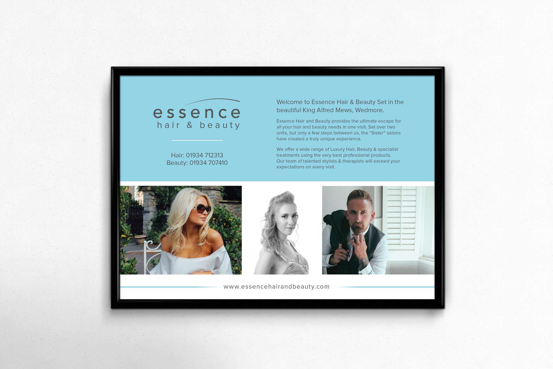 Essence-Beauty Advert Design Wedmore Somerset