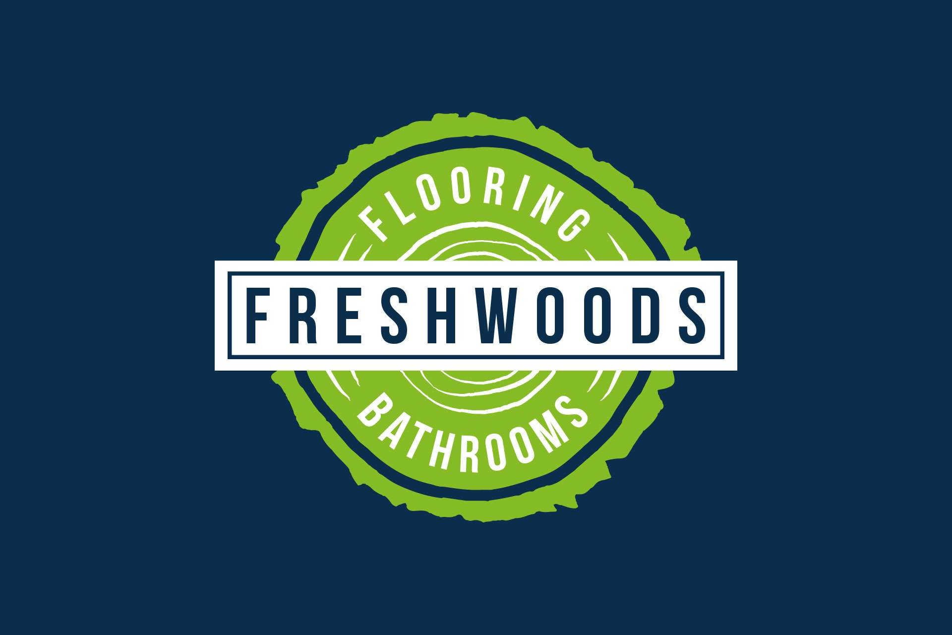 Flooring bathrooms logo design somerset