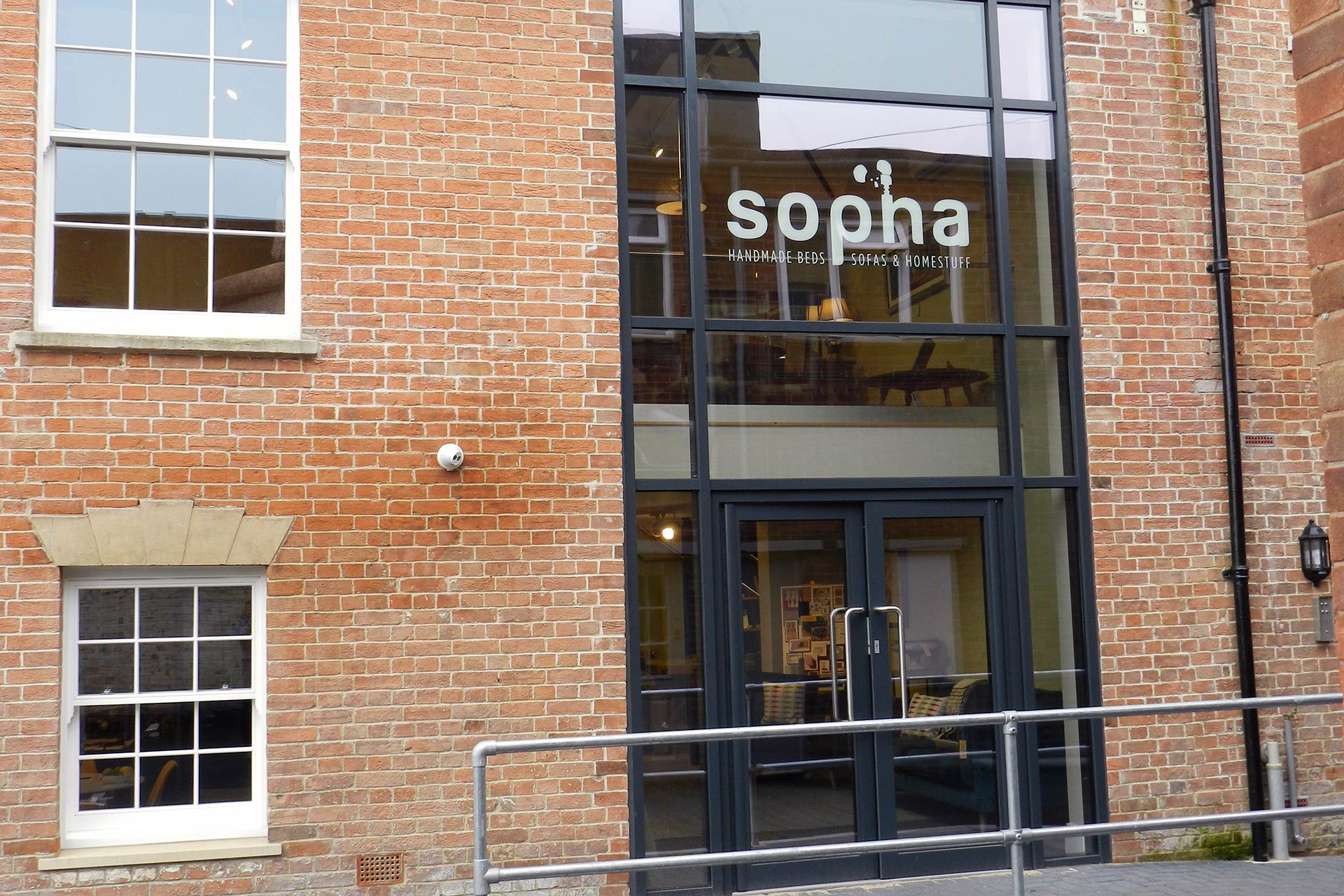 Sopha Logo Design & Signage, Somerset