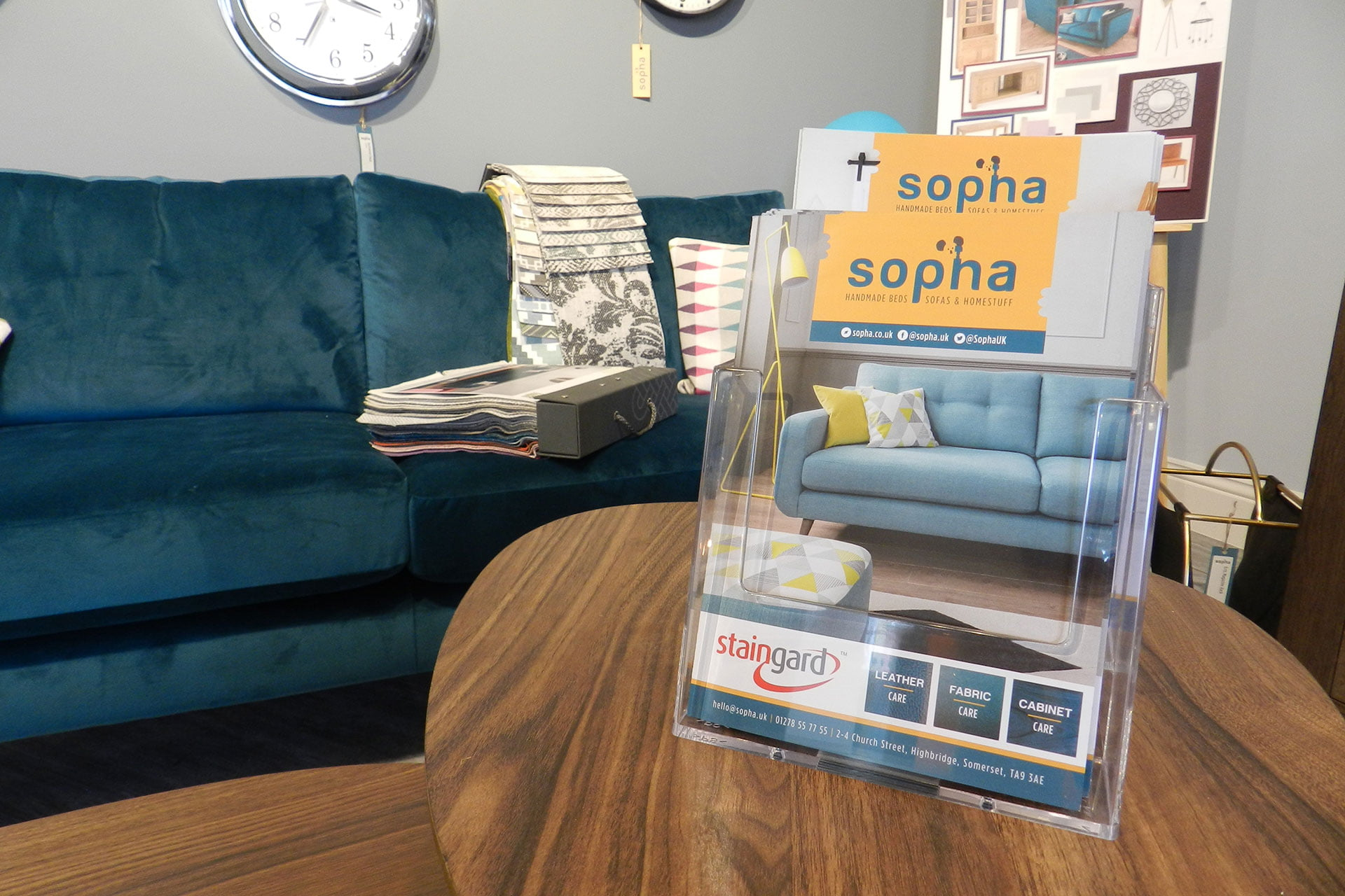 Sopha-furniture-retail-flyer-design-Somerset