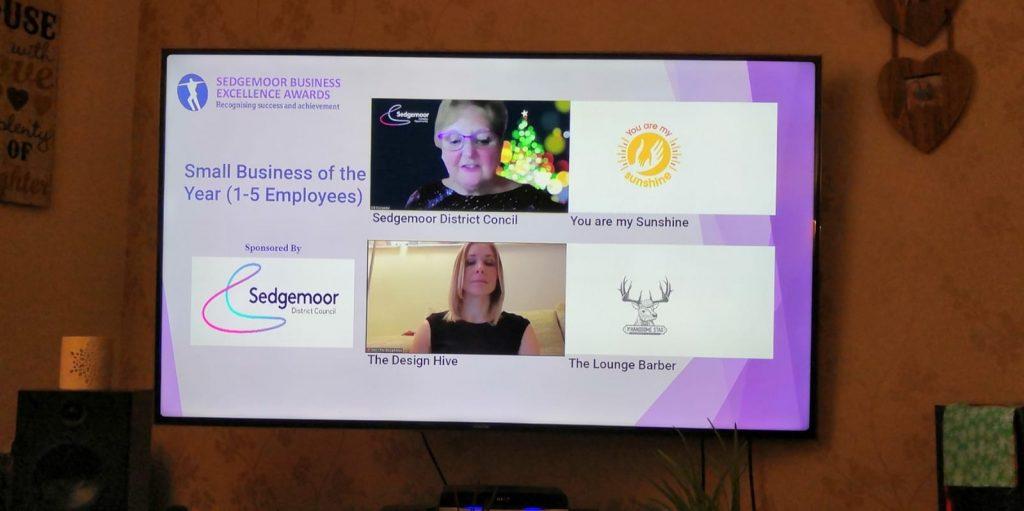 Sedgemoor Business Awards Win 2020