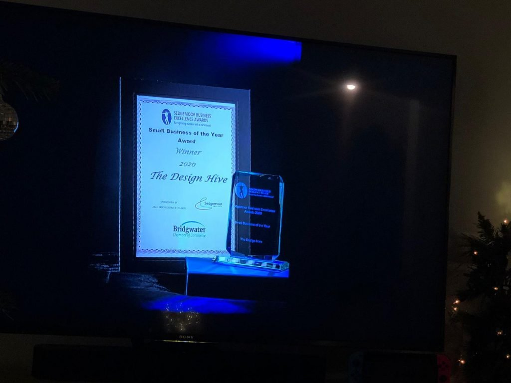 Sedgemoor Business Awards Win Small Business of the Year 2020