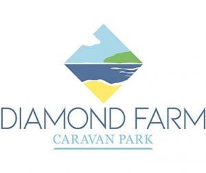 Diamond Farm Logo Caravan Park