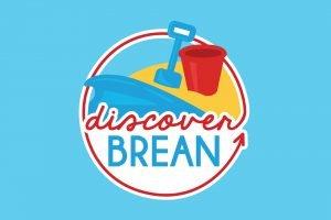 Discover Brean Logo
