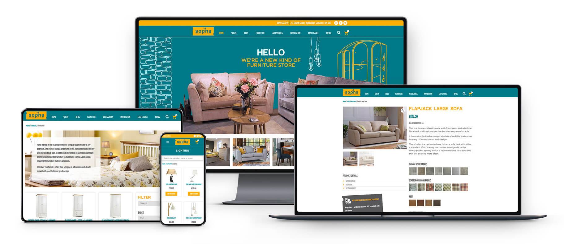 Sopha Responsive Website Design Highbridge