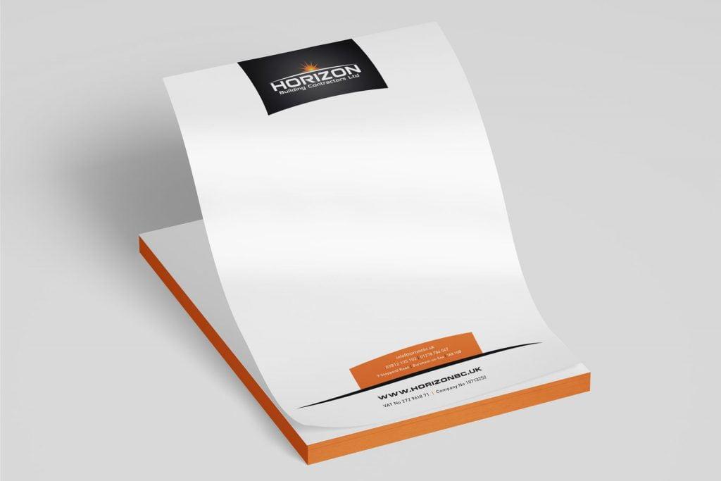 builders contractors letterhead designs