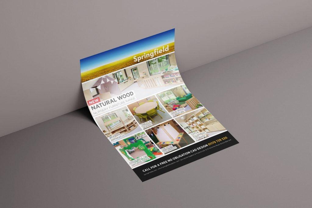 furniture flyer design bristol