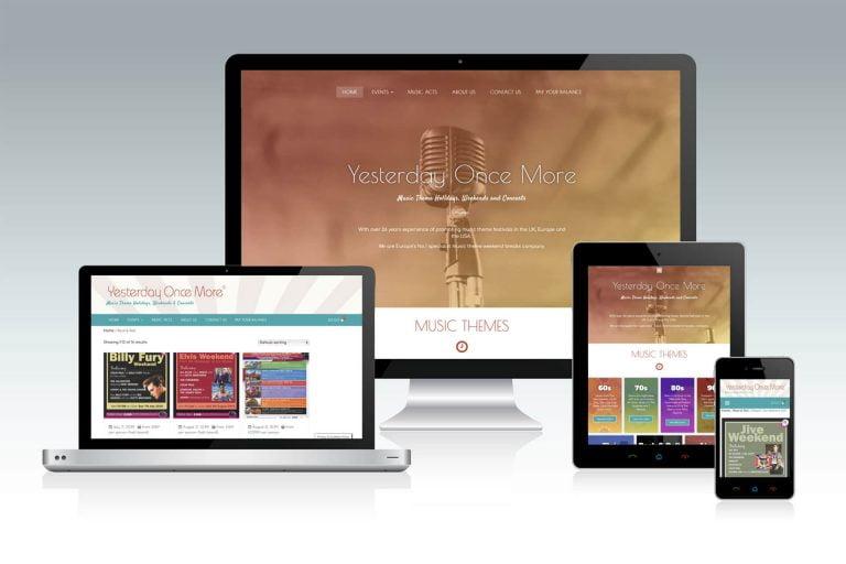 music ecommerce web design highbridge