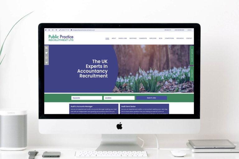 recruitment website design somerset