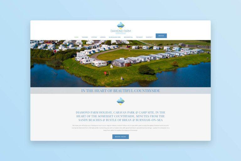 Caravan Park Website Design