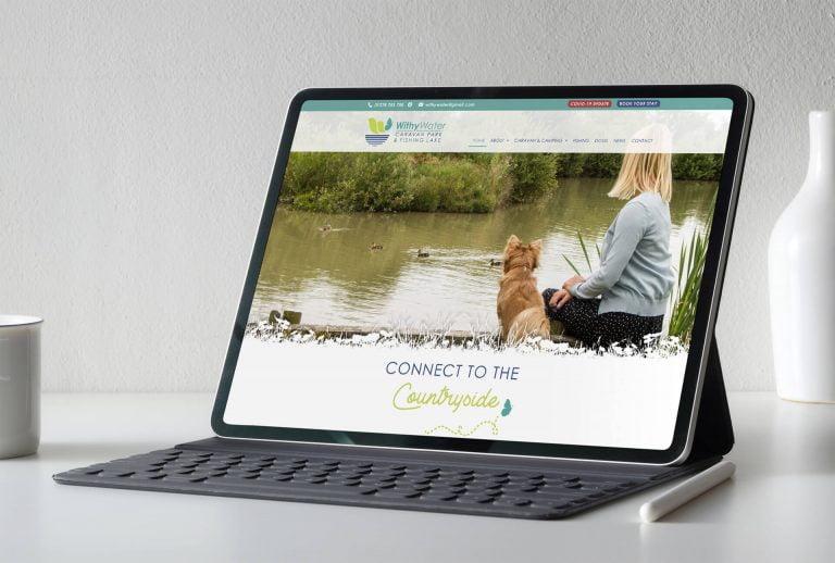 Withy Water Caravan Park Website Design